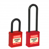 4ef7f160569 LOCKOUT SAFETY DIELECTRIC PREMIER PADLOCK WITH NYLON SHACKLE (6 MM SHACKLE)